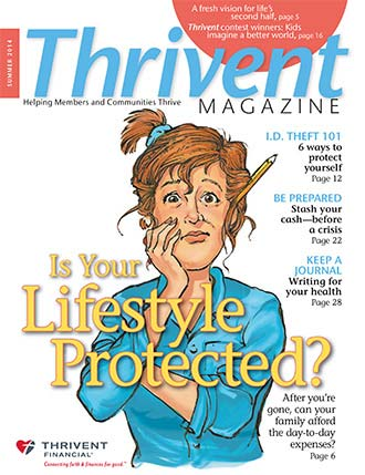 Thrivent Magazine sample